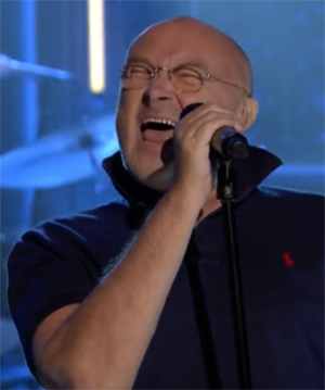 "VIDEO | Phil Collins sorprendió tocando ""In the Air Tonight"" en televisión"