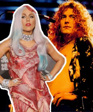 "Escucha a Lady Gaga cantando ""Black Dog"", de Led Zeppelin"