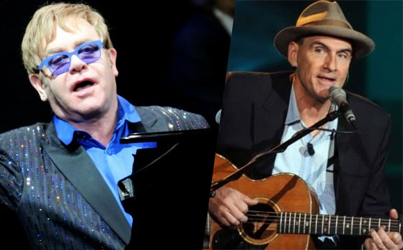 Elton John y James Taylor confirman visita a Chile durante el 2017