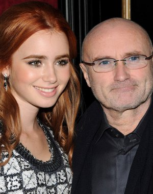 La emotiva carta en donde Lilly Collins perdona a su padre Phil Collins