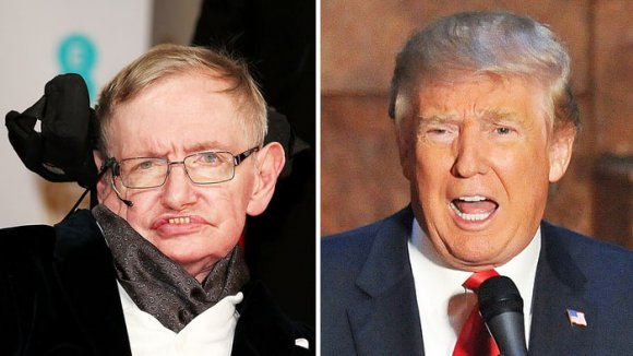 VIDEO | Stephen Hawking se va contra Donald Trump: 'Dios no quiera que tenga segundo mandato'
