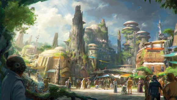 VIDEO | Así será el parque temático de Star Wars en Disney