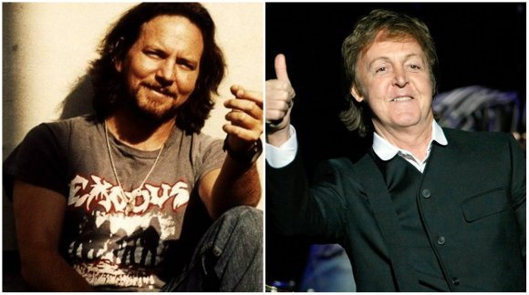 El día en que Paul McCartney golpeó a Eddie Vedder