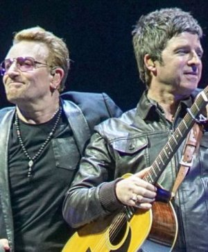 VIDEO | Noel Gallagher tocó 'Don't Look Back In Anger' junto a U2 en comienzo de gira conjunta