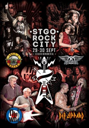 CONCURSO | Gana uno de los packs del Stgo Rock City