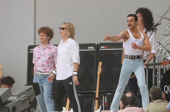 Se filtra video de Rami Malek interpretando a Freddie Mercury