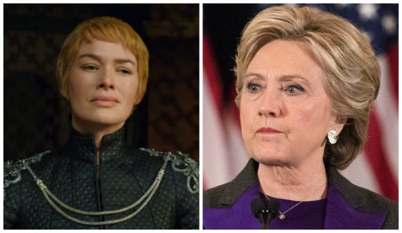 Hillary Clinton se comparó con Cersei Lannister y demostró no haber visto nunca Game Of Thrones