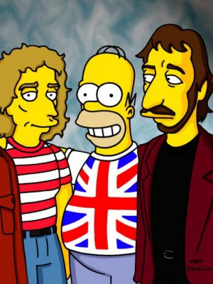 VIDEO | Un clásico: La mítica aparición de The Who en Los Simpson