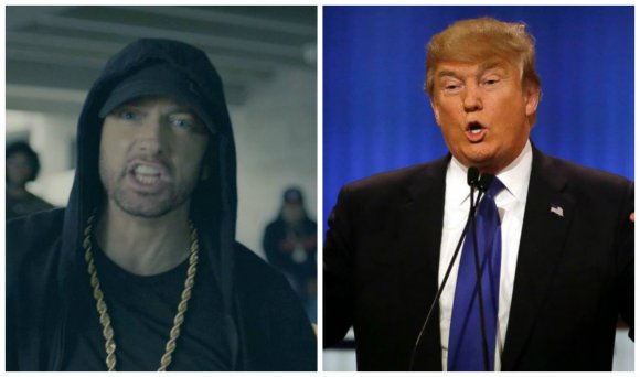 Eminem destroza a Trump en este freestyle