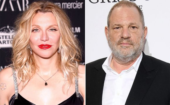 En 2005 Courtney Love le advirtió al mundo sobre Harvey Weinstein