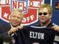 Sir Elton John es fan de los Patriots de New England