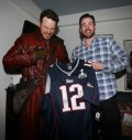 Chris Evans es fan de los Patriots de New England