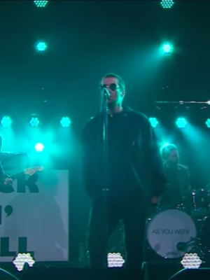 VIDEO | Liam Gallagher tocó 'I've All I Need' en el show de James Corden