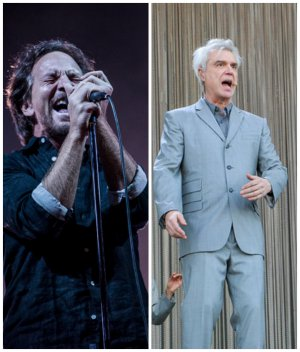 VIDEO | El tributo de Pearl Jam a David Byrne en Lollapalooza Brasil