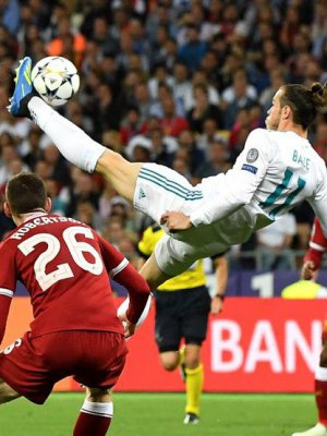 VIDEO | El golazo de chilena de Gareth Bale que impuso al Real Madrid ante Liverpool