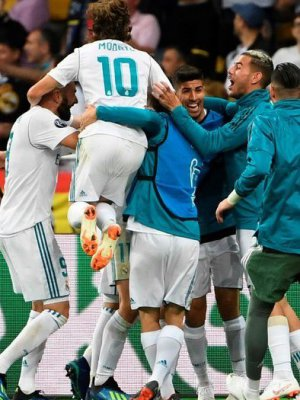 Real Madrid ganó su tercera Champions League consecutiva tras vencer al Liverpool