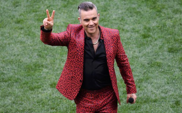 VIDEO | Así fue la inauguración de Robbie Williams para Rusia 2018