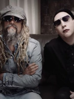 VIDEO | Ruidoso y potente: Marilyn Manson y Rob Zombie se unen para versionar 'Helter Skelter' de The Beatles