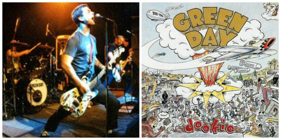 Integrantes de Green Day ensayan su álbum 'Dookie' de 1994