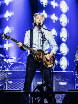 VIDEO | Icónico: Paul McCartney invitó a Ringo Starr y Ron Wood para tocar 'Get Back'