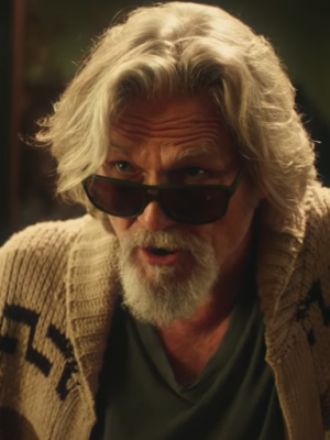 VIDEO | Obvio: El regreso de Jeff Bridges como 'The Dude' era para un comercial