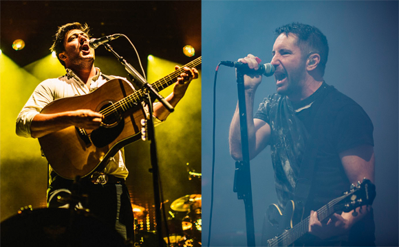¿Homenaje a NIN o Johnny Cash? Mumford and Sons tocaron cover de 'Hurt'